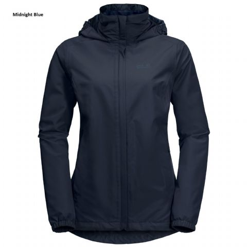 Jack Wolfskin Womens Stormy Point Jacket - Waterproof/Breathable
